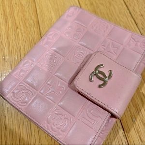 Chanel Lucky Charms Symbols Quilted Wallet Vintage